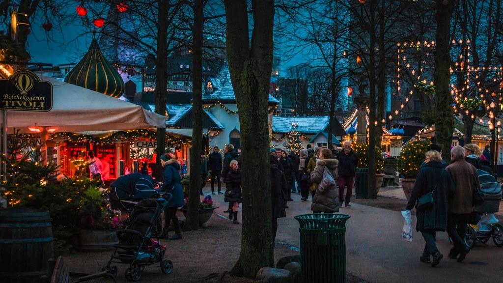 Tivoli_Gardens Prague Christmas market fly from Essex
