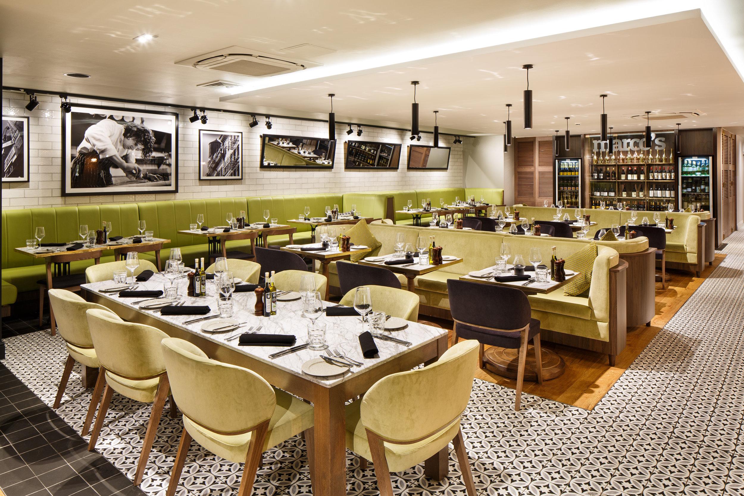 Marco Pierre White restaurant in Essex W