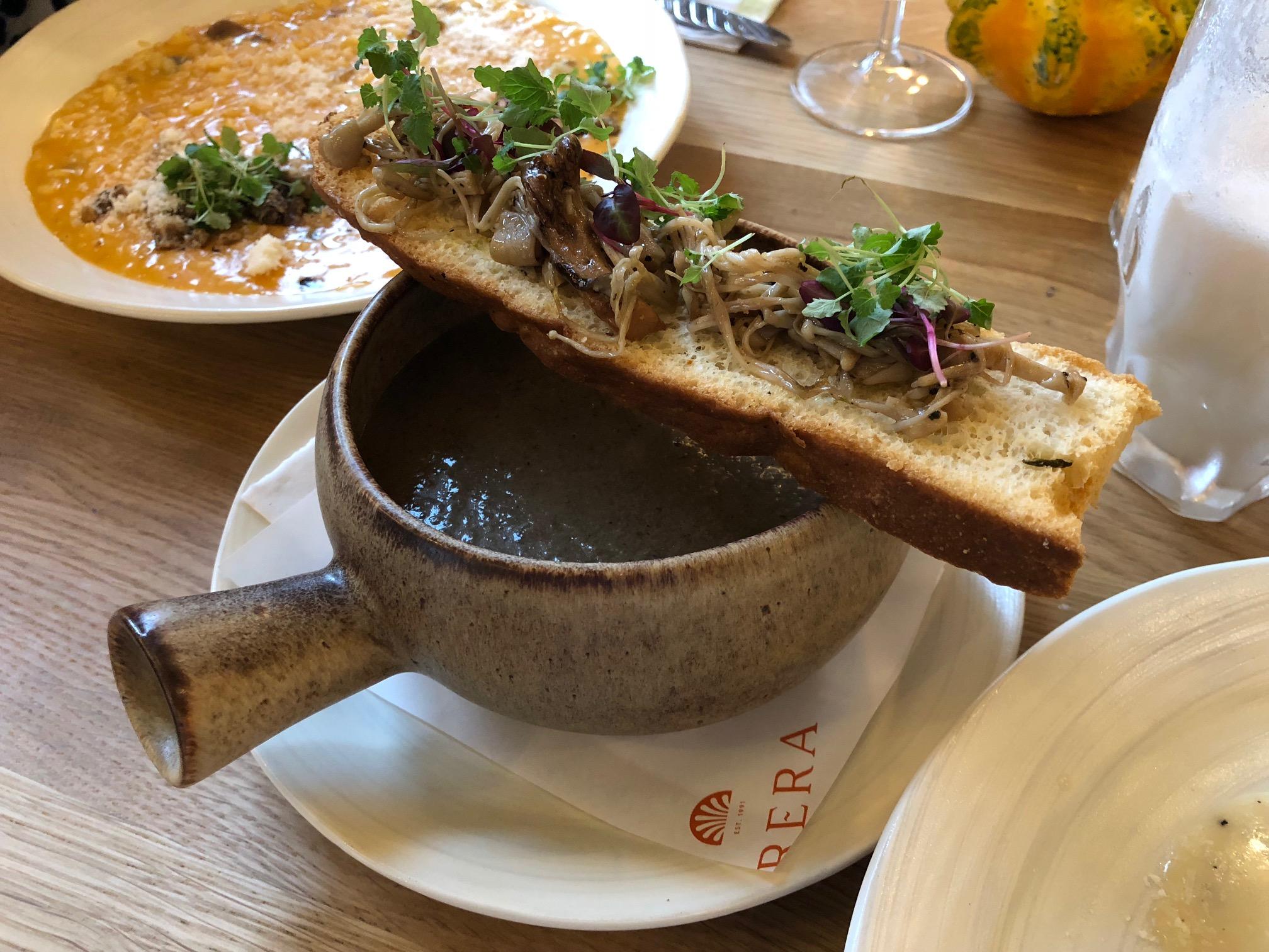 Where to eat in East London Brera restaurant