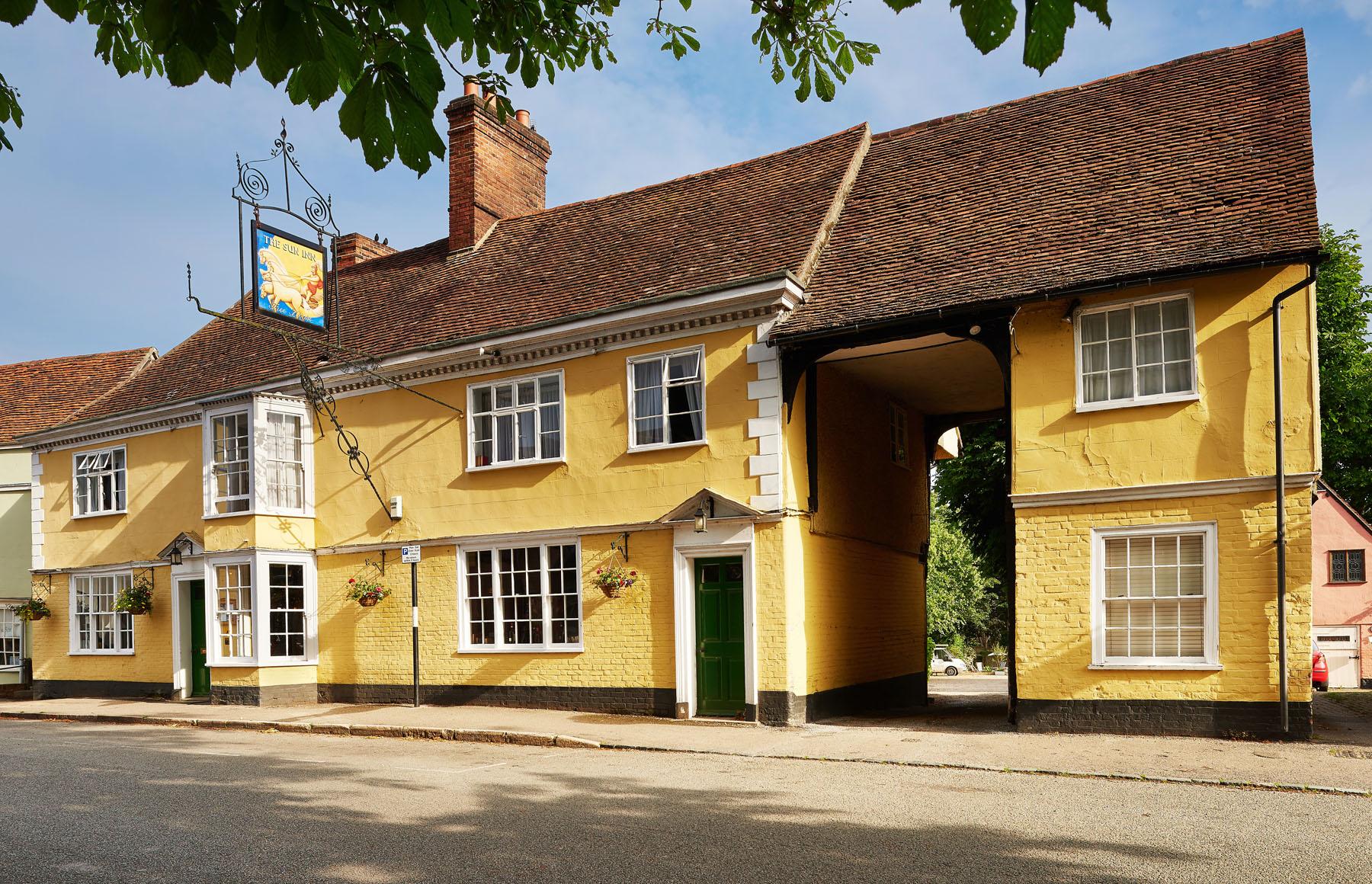 The Sun Inn Dedham Essex Free Festivals In Essex
