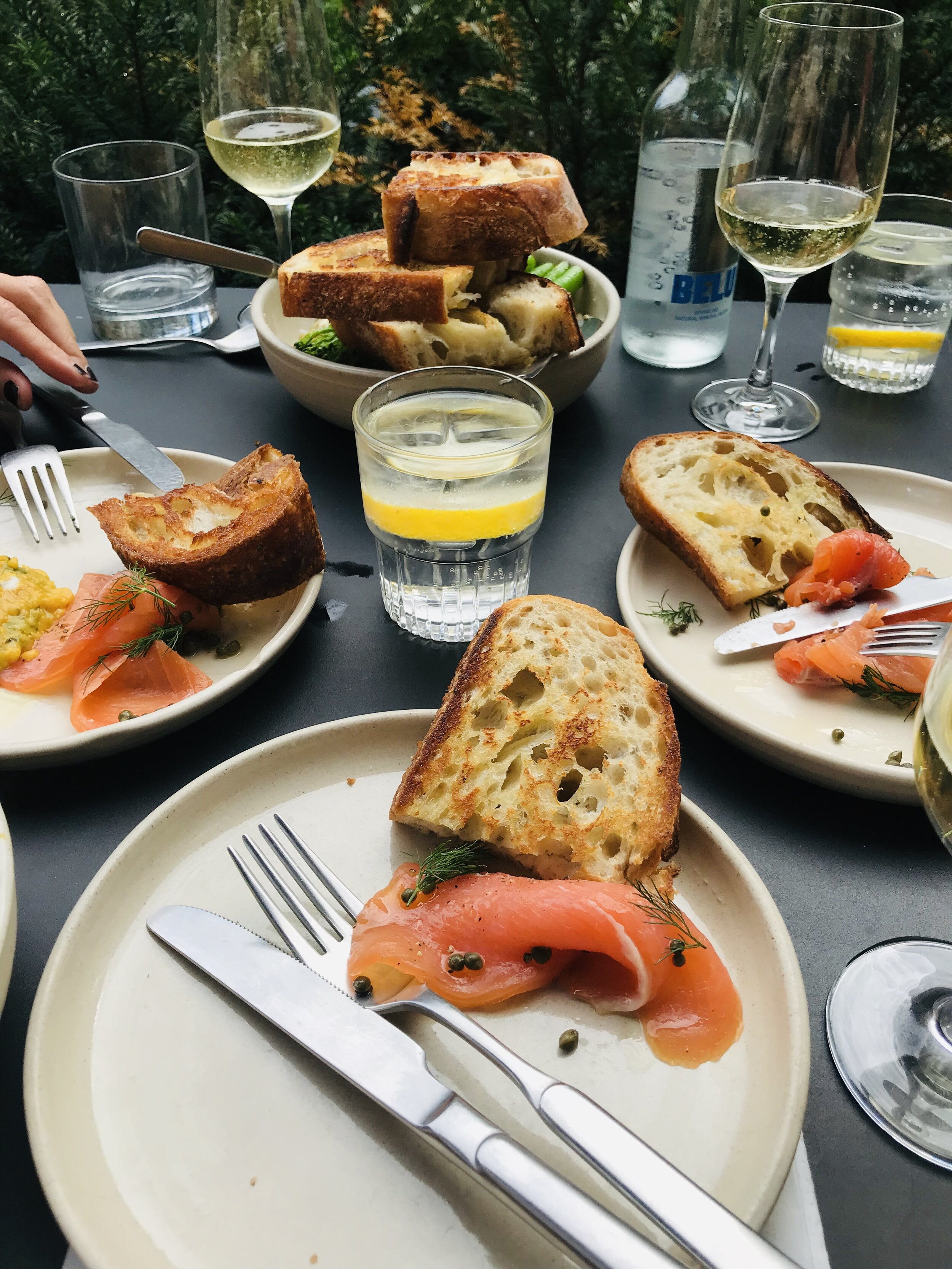 where to eat in East London Crispin Spitalfields
