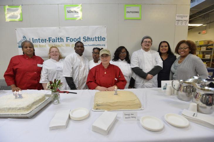 The first Fostering Wellness Culinary Readiness Program graduates!