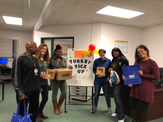 Turkey Pick Up at Neal Middle School