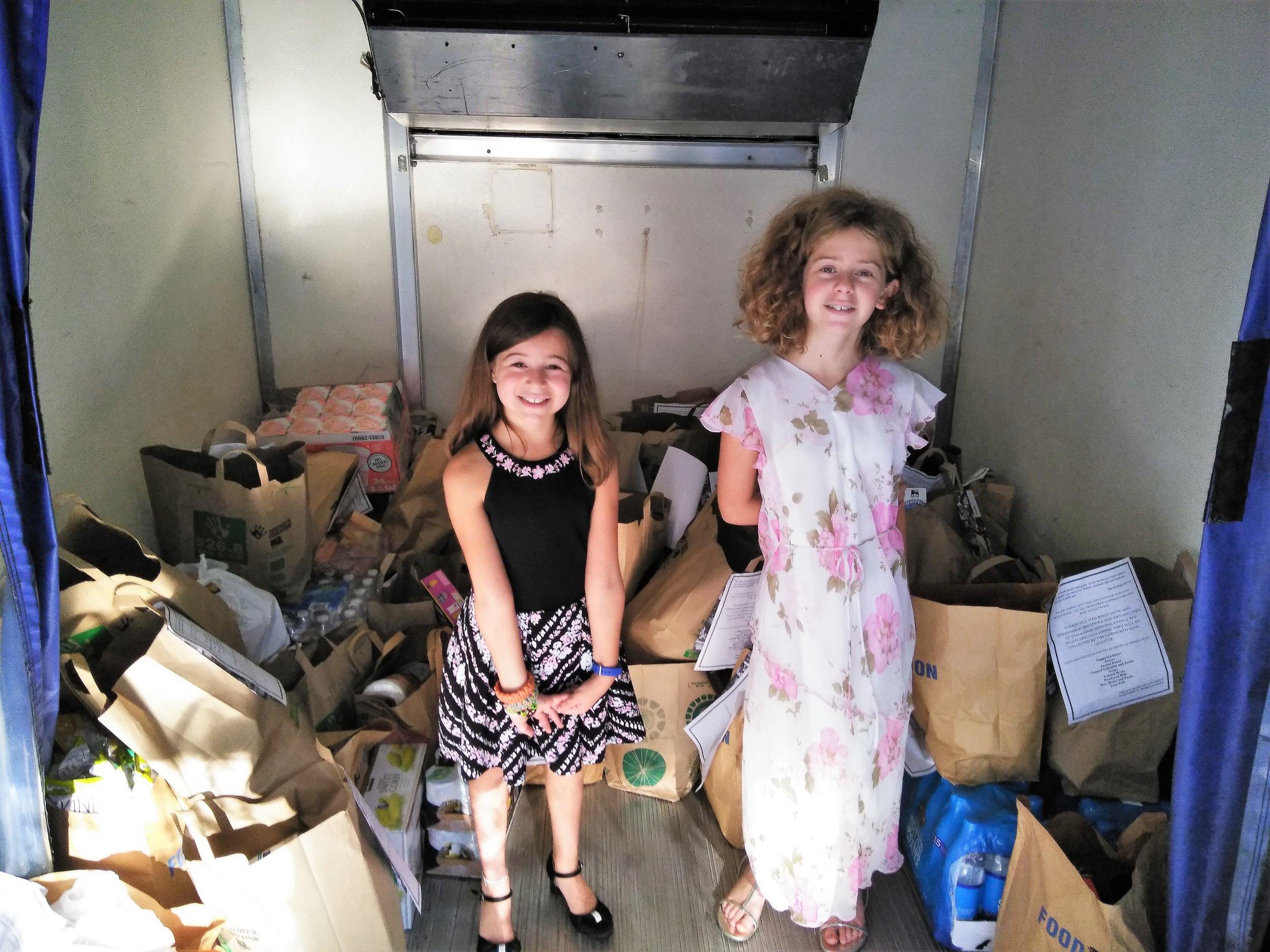 Lila and Sadie - Helpers at Beth Orr Temple.jpg