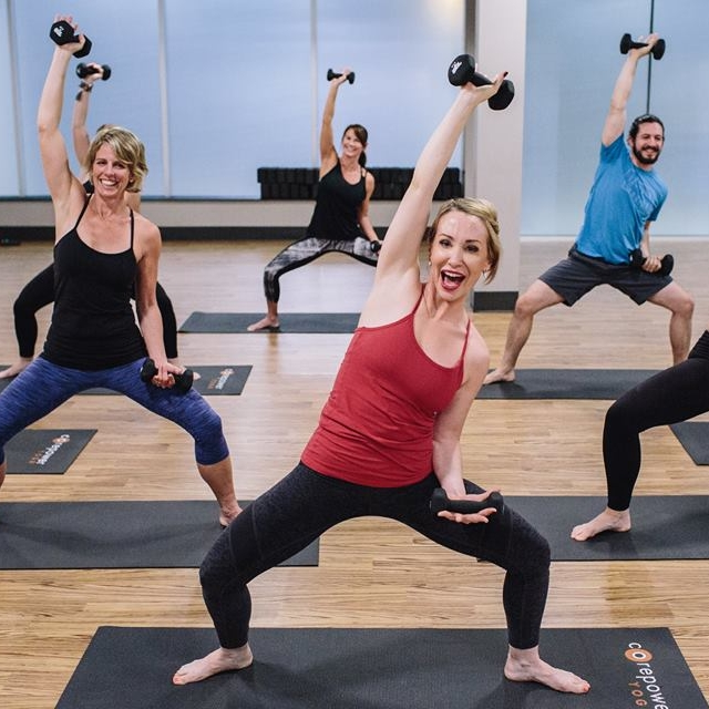 CorePower Yoga   20% off classes at Raleigh and Cary studios.