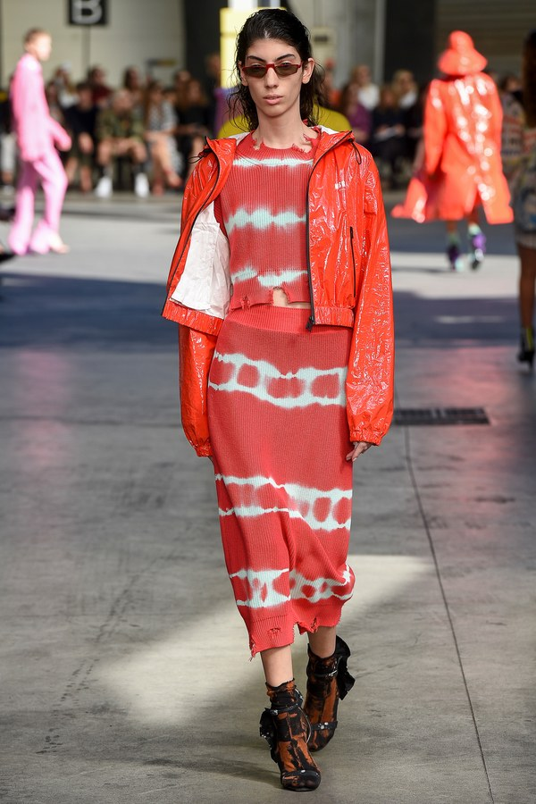 Oyku Bastas - Runway. MSGM. Click on image to see more looks from this show.