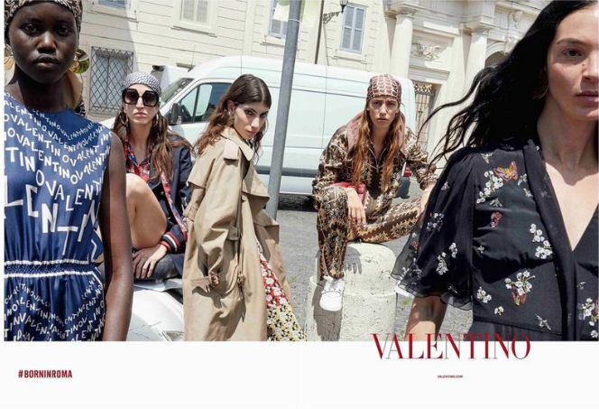 Oyku Bastas - Campaign. Click on the image to shop Valentino.