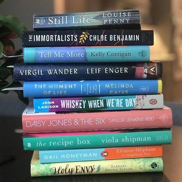 """""""You can find magic wherever you look. Sit back & relax, all you need is a book"""" ~Dr Seuss . . I am making my way through this stack. I say the summer doesn't end until I read them all. . What are you reading this summer? . . .  #summerreadinglist  #booksbooksbooks #acuppateaandabook #booksmakelifebetter #timetoreadabook📚📘"""