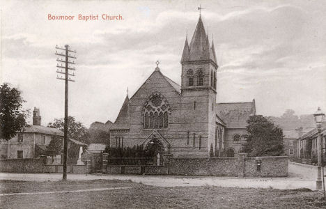 Boxmoor Baptist Church before it was demolished