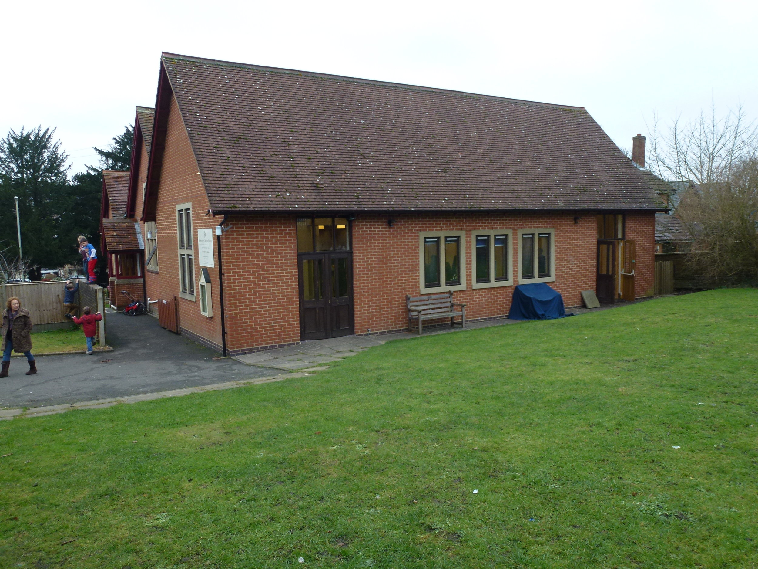 Extended church hall