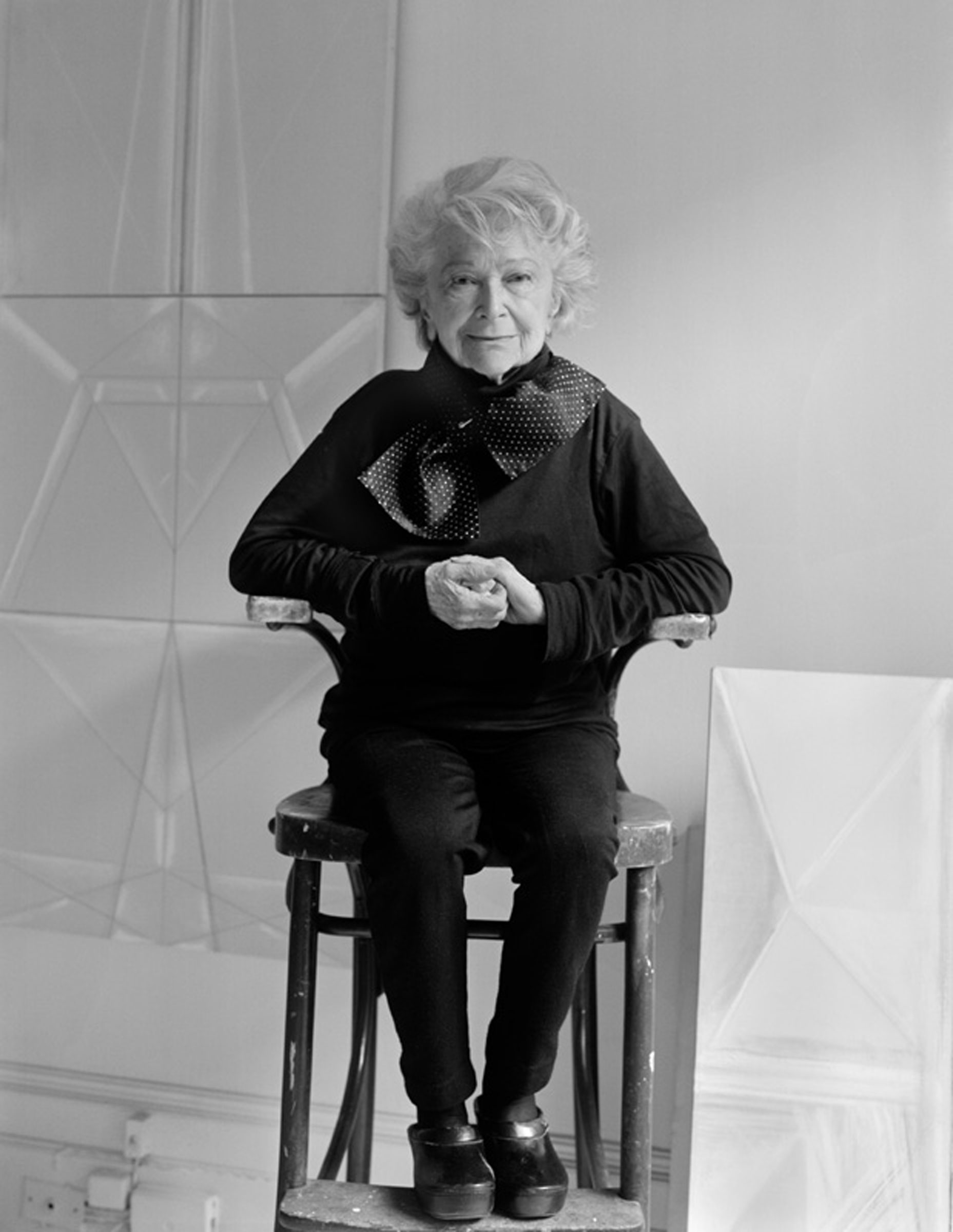 Portrait of Hedda Sterne, 6 February 1992 | photograph by Barbara Yoshida, © Barbara Yoshida