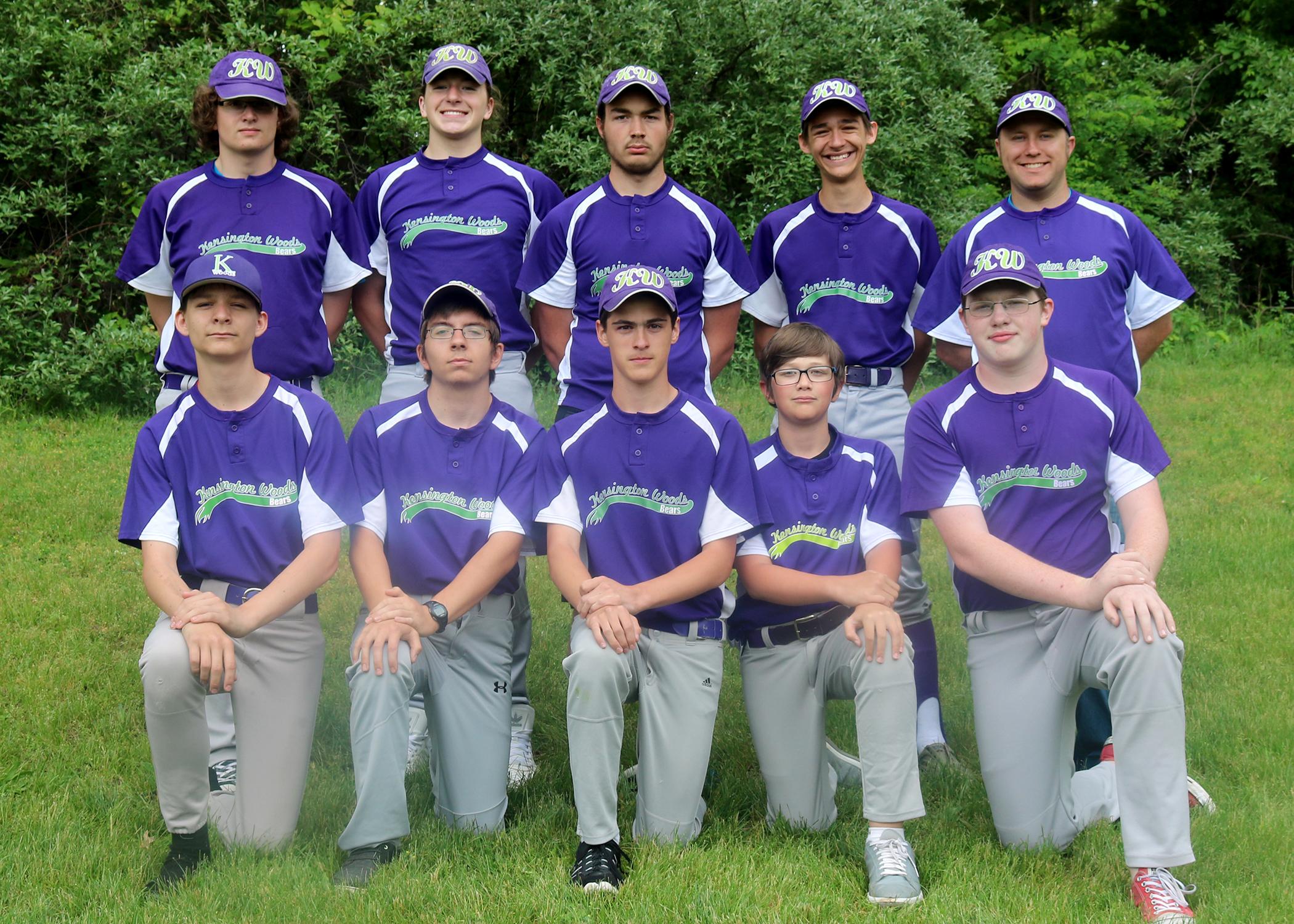 Kensington Woods Schools Baseball, 2017