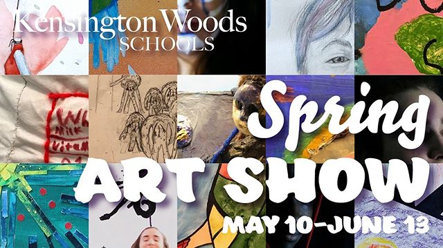 Please join us on May 10 from 5:30-7pm for our first annual Spring Art Show Opening Reception. We will have light refreshments, interactive art activities hosted by National Art Honors Society and, of course, art!  The KWoods Spring Art Show, with work from students in grades 6-12, will be on display from May 10-June 13.