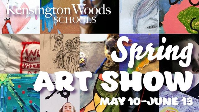 Join us tonight for our Spring Art Show Opening from 5:30-7pm!