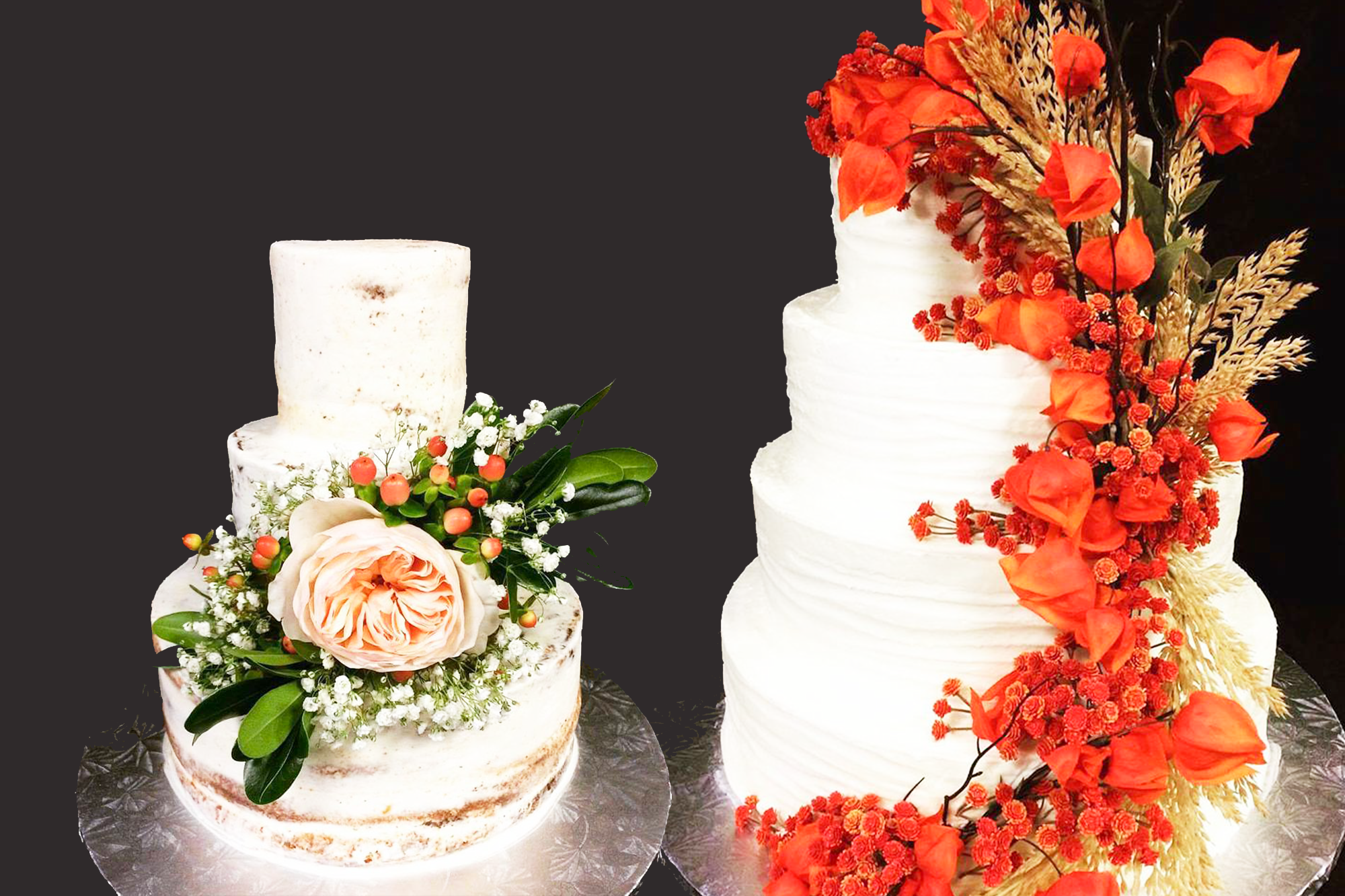 - We believe that we are best suited to help you celebrate your wedding day by allowing our superb bakers to create the cake of your dreams. Let us assist in helping you select and design the perfect cake. Our process is seamless and simple: Just make an appointment, and our bakers she will discuss the wide variety of flavor options, fillings and designs for your cake. Once the ideal cake has been agreed upon, rest assured knowing that we will deliver and set your cake up with precision and polish.
