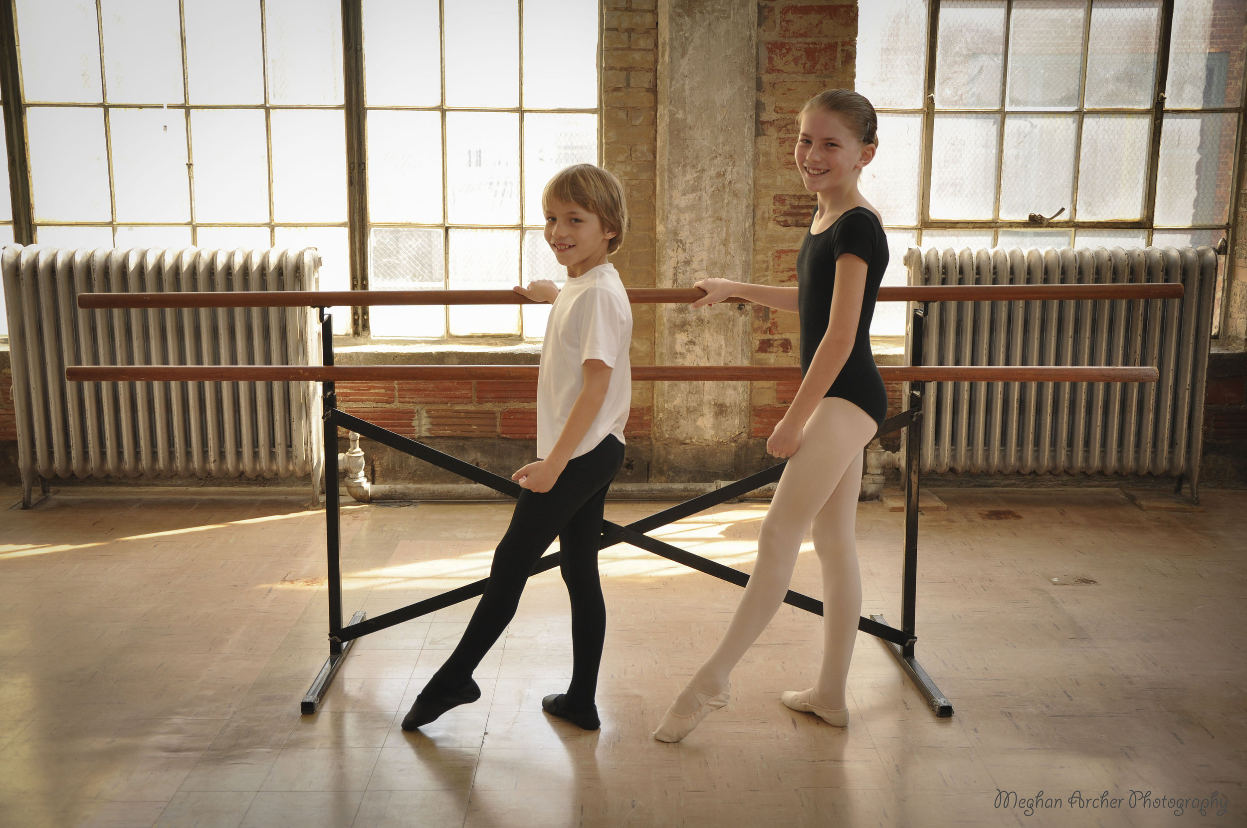Pre grade I for 8 & 9 year olds - This curriculum is geared towards 8-9 year olds as preparation for beginning a more intense ballet program, the Cecchetti program. Students will begin learning terminology, and theory used throughout the Cecchetti program. There is a heavy emphasis on proper body posture and boy alignment, feet and arm positions, and a basic understanding and love of classical music. Pre Grade I follows the Primary III syllabus developed by the Cecchetti Council of America.CLASS LENGTH1 Hour & 15 Minutes