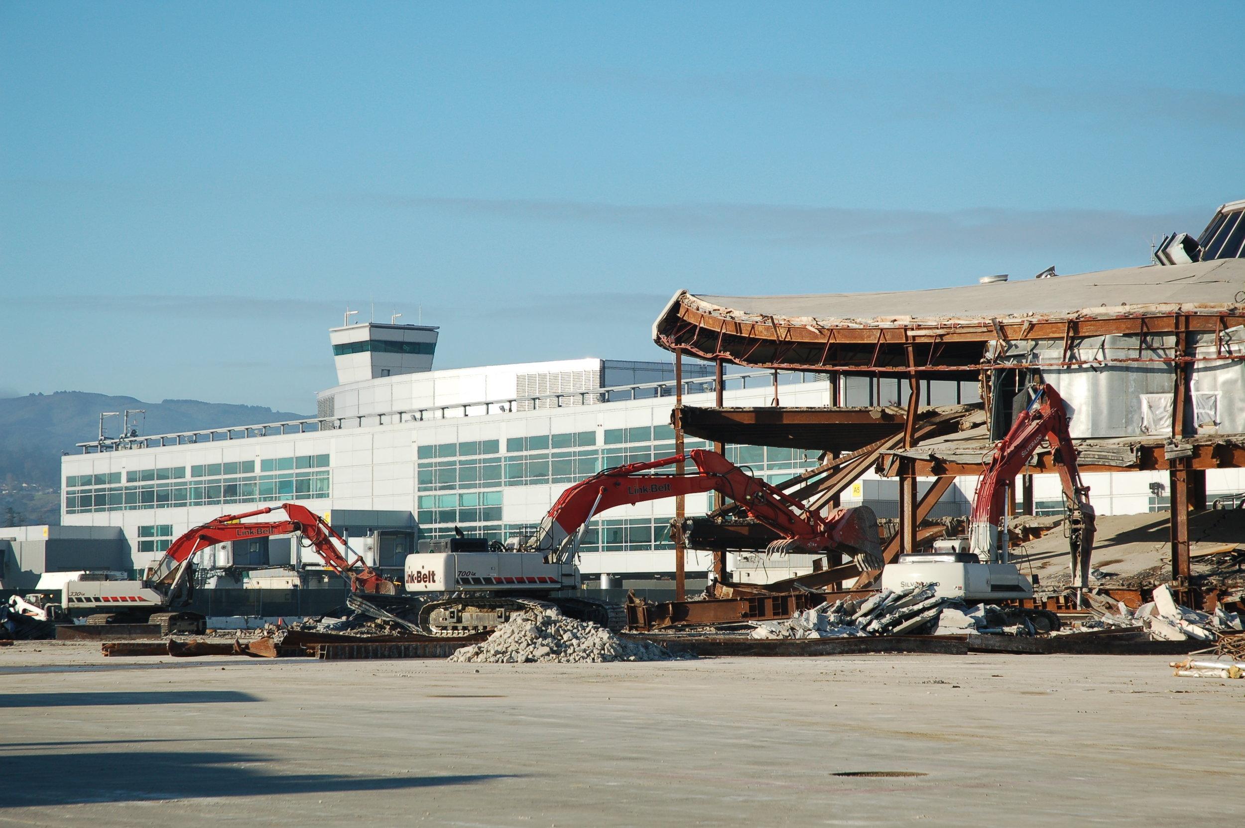 Boarding Area A SFO airport