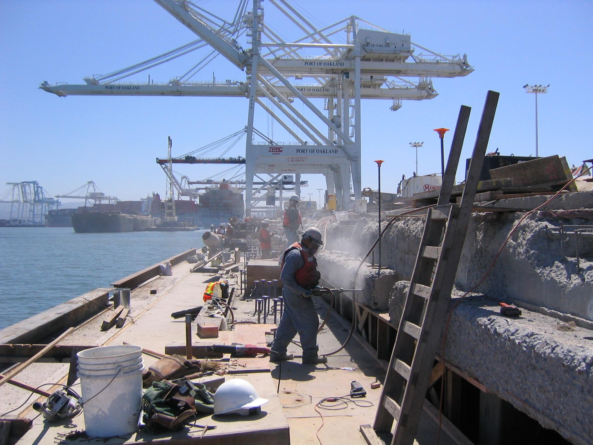 Berth 32 33 Wharf Rehabilitation