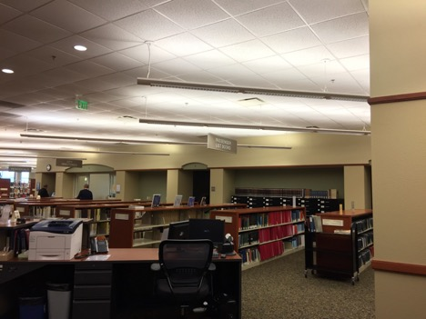 Inside the Midwest Genealogy Center. Photo by Anne Marie Lyons