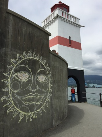Brockton Point Lighthouse, Stanley Park, Vancouver, BC. Photo by Anne Marie Lyons