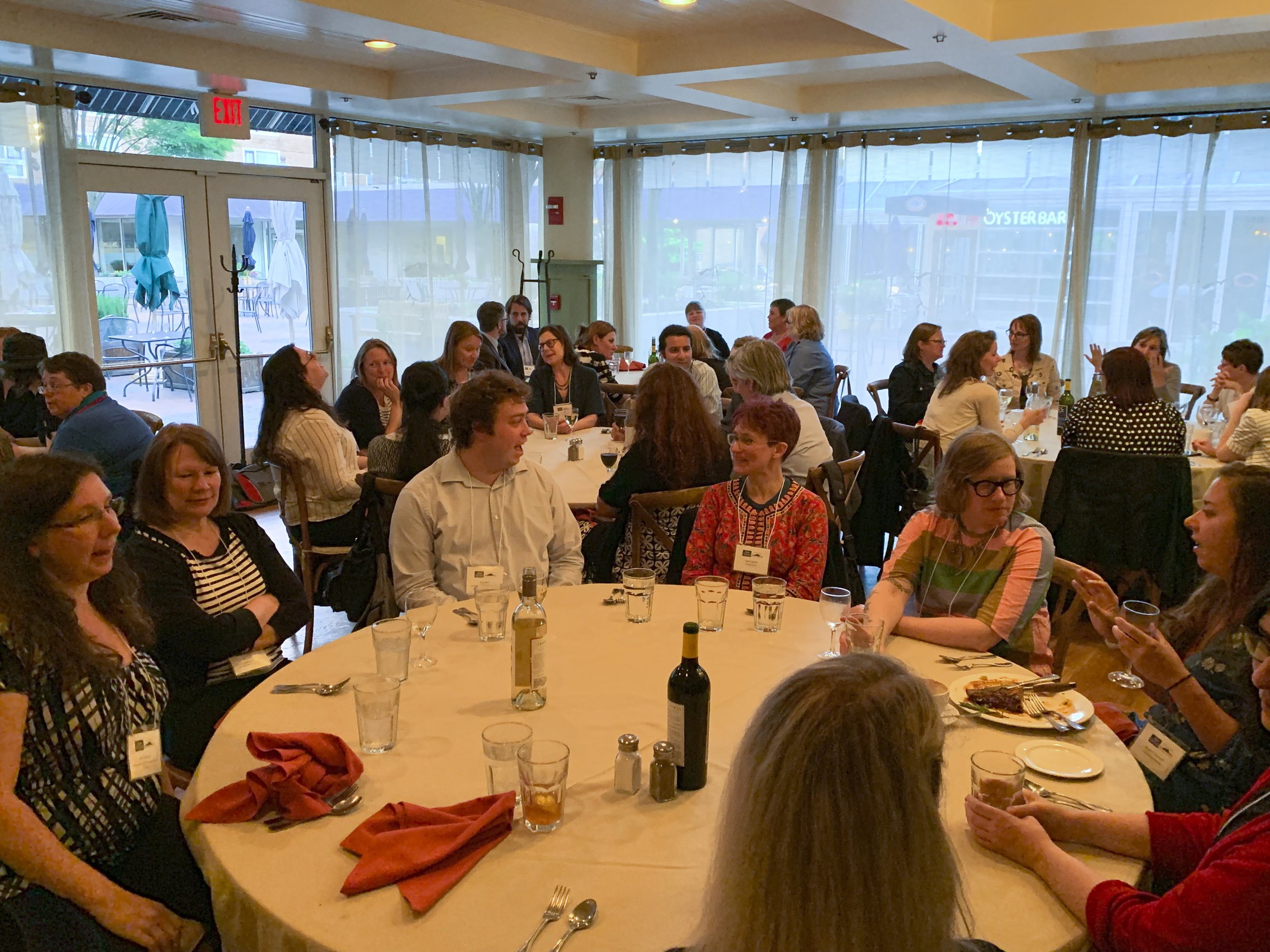Aeon Symposium dinner - photo by Cassandra Norman