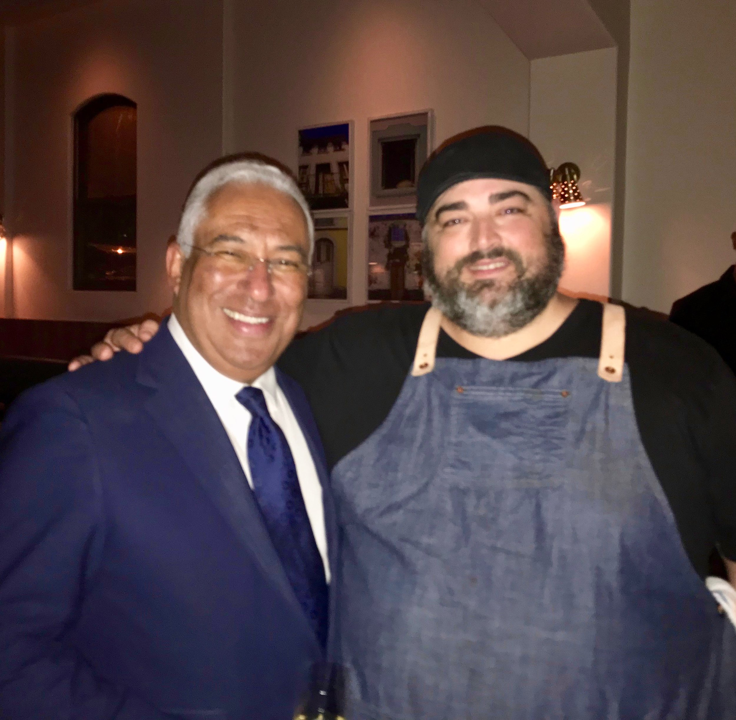 Uma Casa HostsPrime Minister Antonio Costa of Portugal - It was with great pride that Chef Antelmo Faria and the Uma Casa team welcomed Portuguese Prime Minister Antonio Costa and his delegation on June 12, 2018 during their trip to San Francisco. The guests were treated to a specially created menu and unique Portuguese wines for his visit. We are humbled and gracious for the opportunity to have had him enjoy our food and one-of-a-kind hospitality.