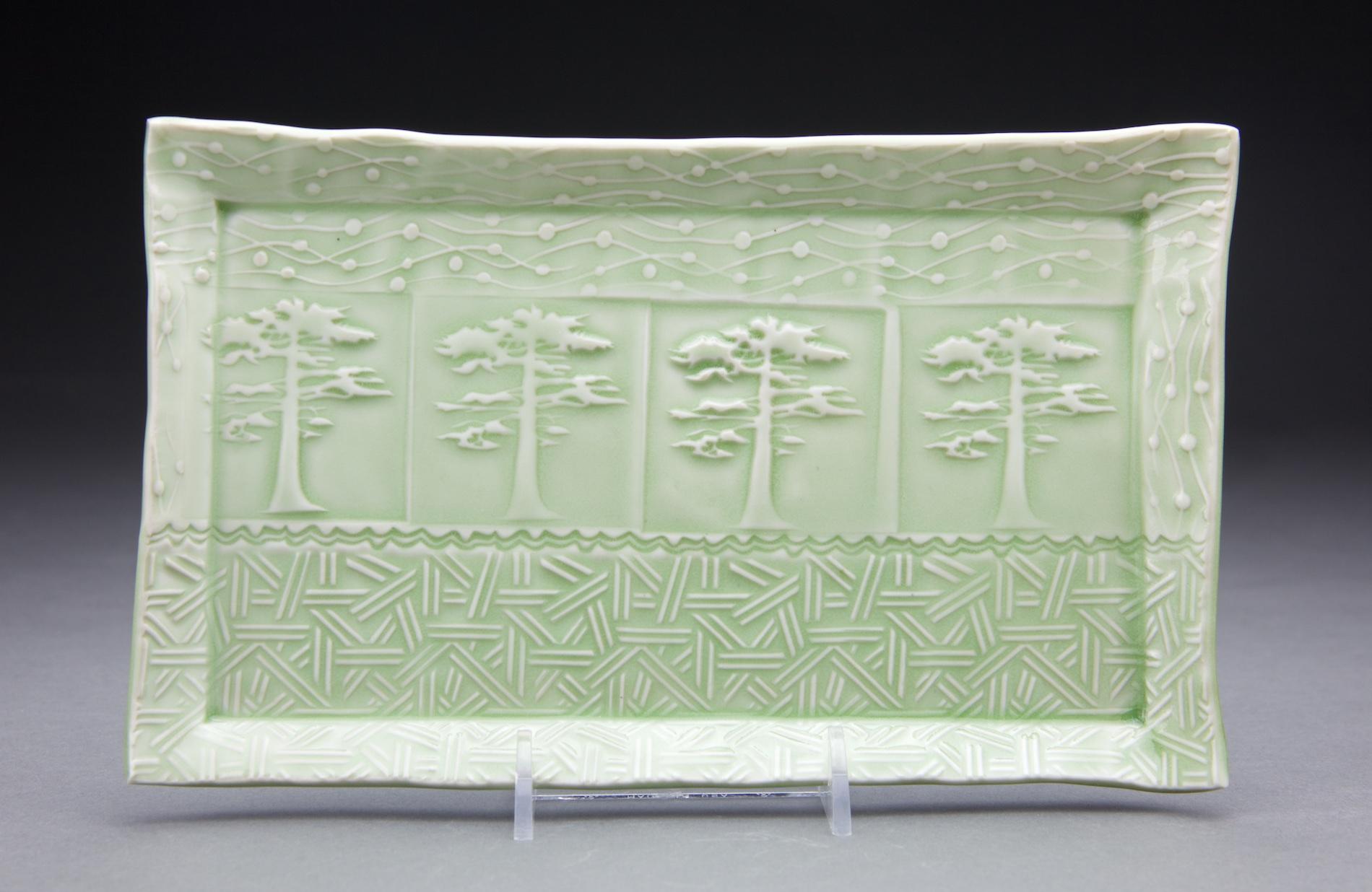 5x9 in. light sage celadon