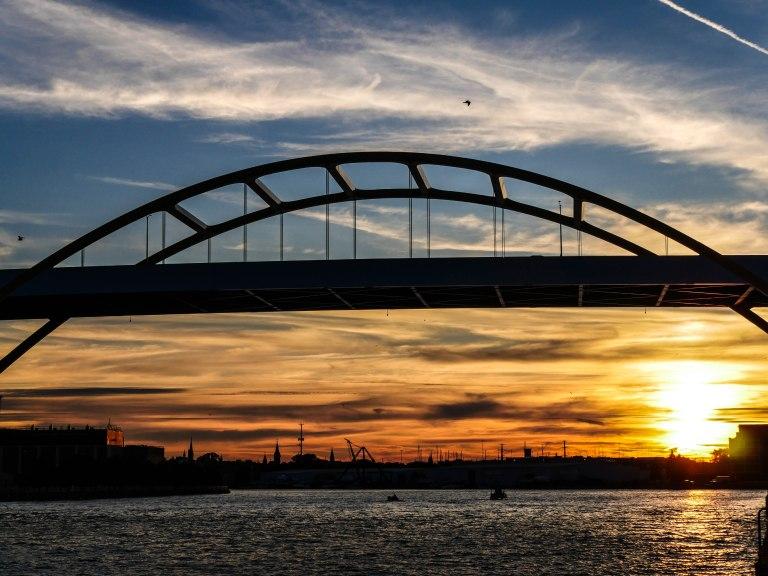 Daniel Hoan Memorial Bridge, shot by Addie
