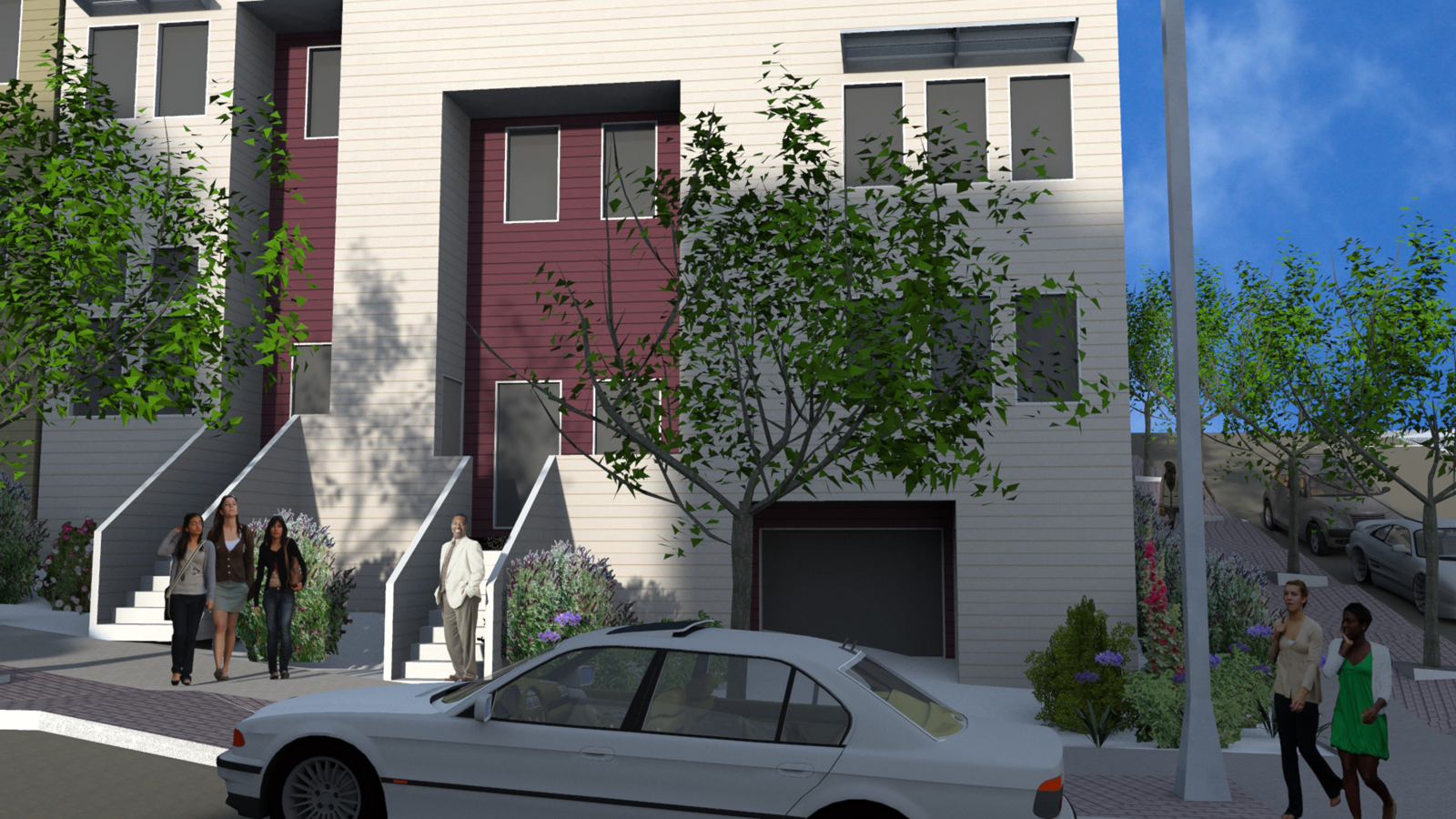 201403 8-10-15 Block 8 View From Ironwood at Catalina at building entries.jpg