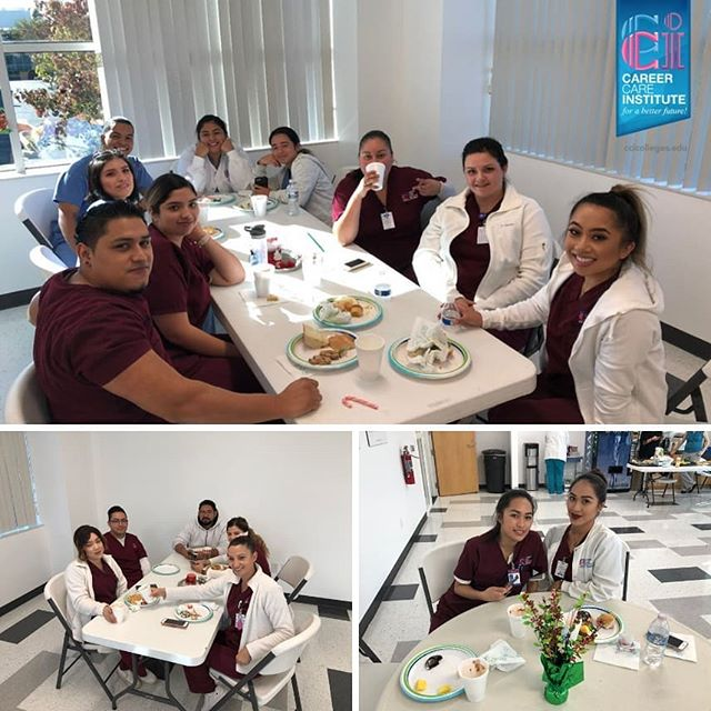 Student Appreciation Lunch for our lovely Oxnard Students! . For more information about our programs please visit our website at https://www.ccicolleges.edu/admissions-requirements/ or call us at (805) 804-9119- Oxnard Campus (951) 977-4255- Moreno Valley Campus (661) 418-5860- Lancaster Campus . . #medicalassisting #dentalassisting #dental #medical #vocationalschool #vocationalnursing #vocationaltraining #nursingschool #nursingstudent #nursingstudents #lancaster #santaclaritavalley #santaclarita #scv #ventura #venturacounty #palmdale #palmdaleca #oxnard #oxnardca #antelopevalley #antelopvalleylife #lancaster #lancasterca #medicalfield #medicalschool #medicalstudent #AVnursesrock #ccicolleges #forabetterfuture