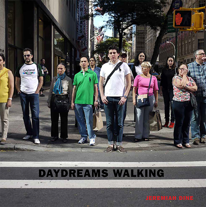 Daydreams Walking . Hardcover, 230 pages. Edited and designed by  Yolanda Cuomo Design . Essay by  Robert Sullivan . Published by  Damiani  Spring 2020.
