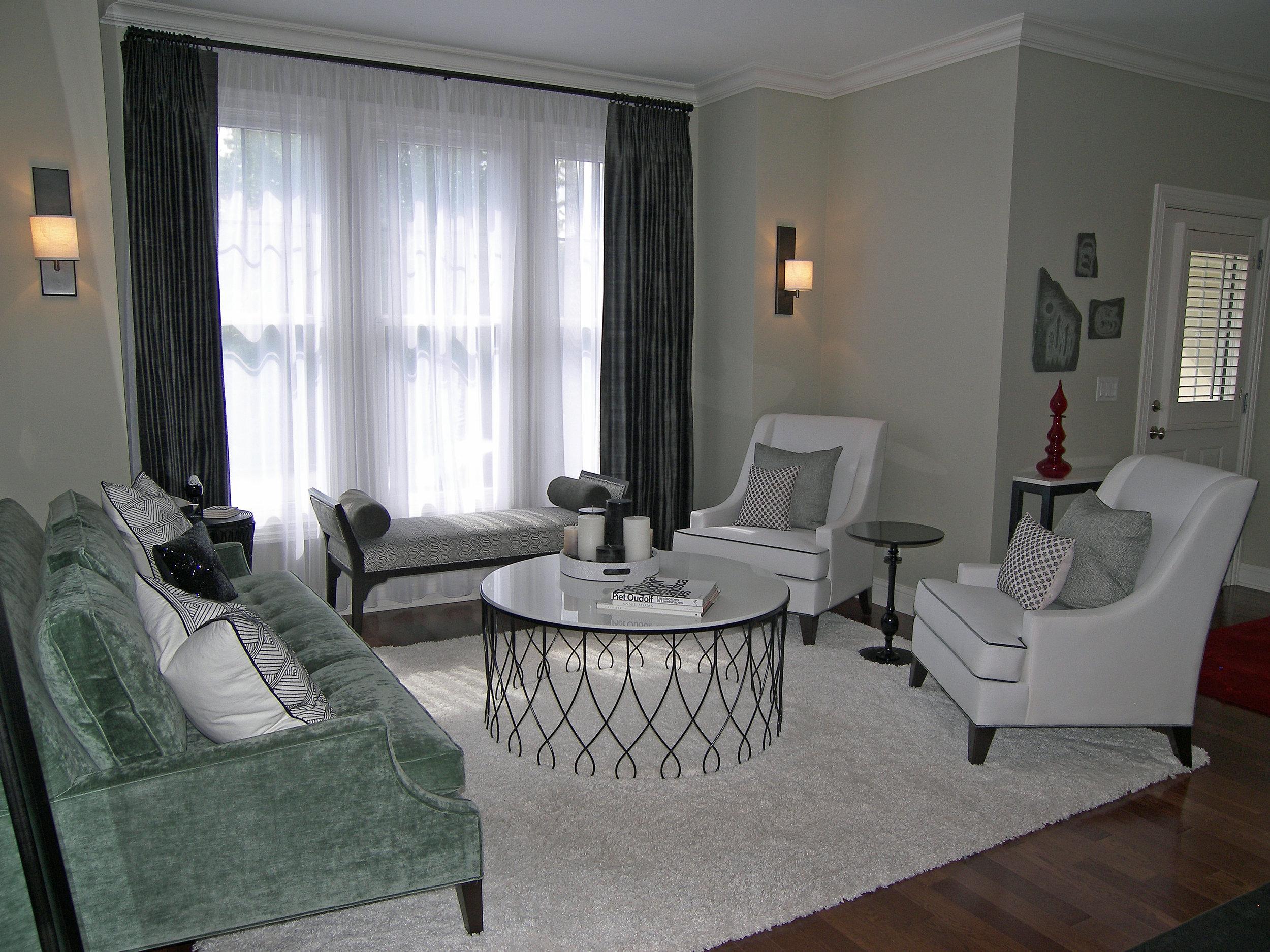 Wendy Nobriga ASID Park Ridge IL Living Room