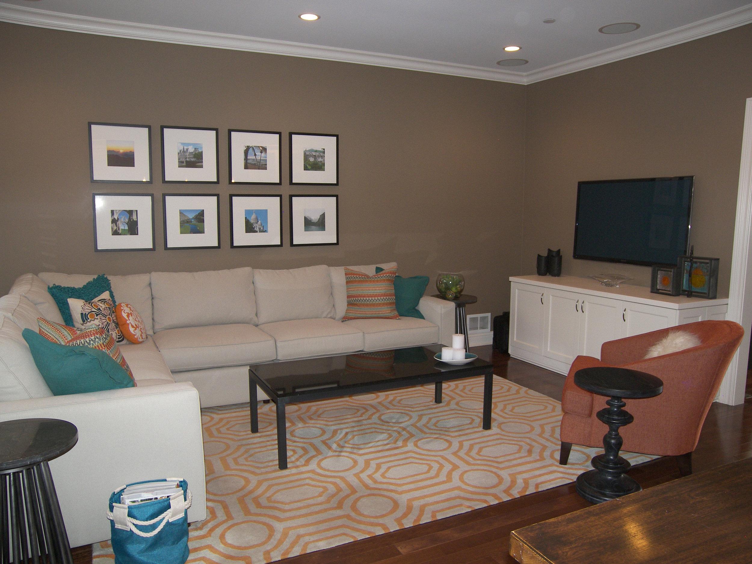 Wendy Nobriga ASID Park Ridge IL Family Room