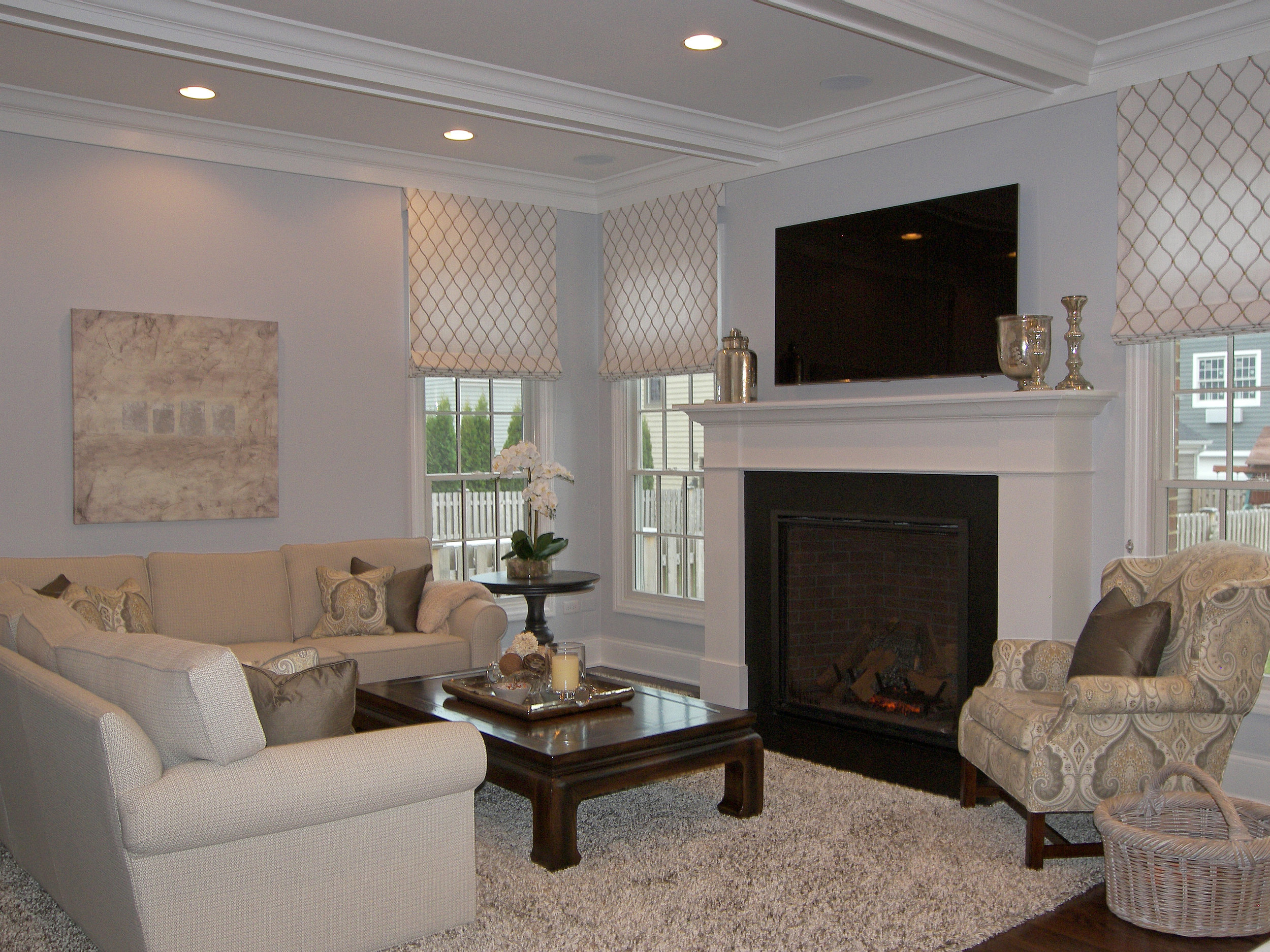 Wendy Nobriga ASID Evanston IL Family Room
