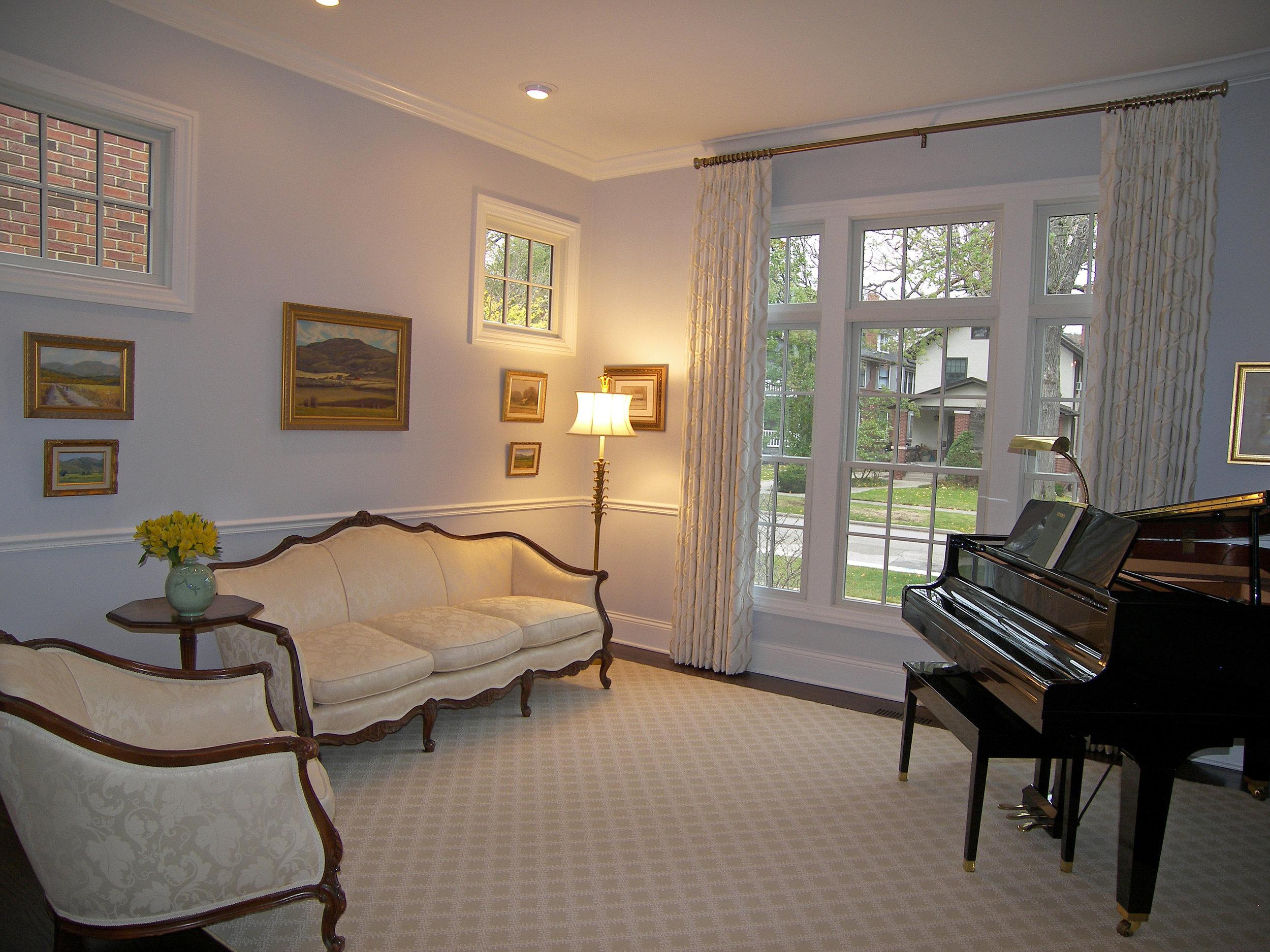 Wendy Nobriga ASID Evanston IL Living Room