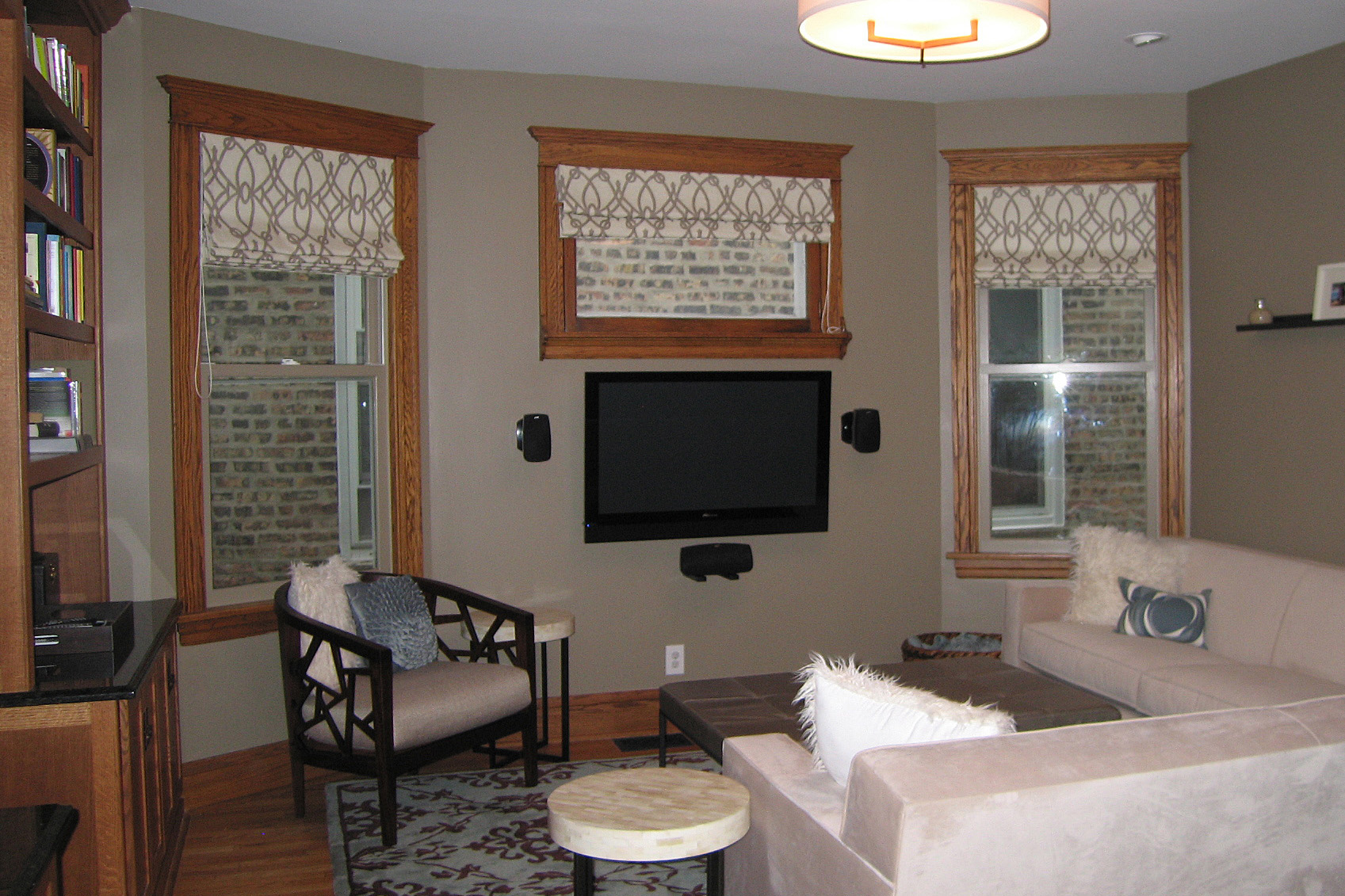 Wendy Nobriga ASID Chicago IL North Center Family Room