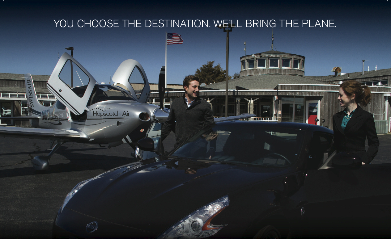 Airline Ad Campaign - Elisabeth Ness