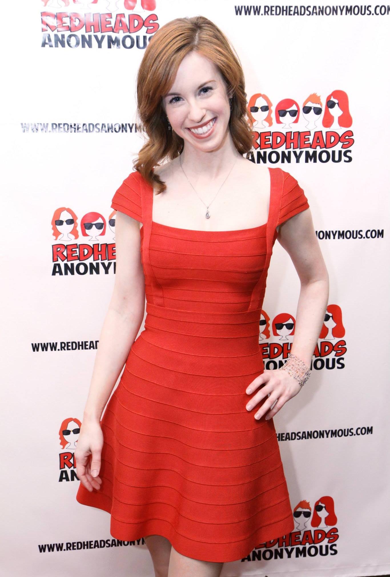 Elisabeth on the RA red carpet