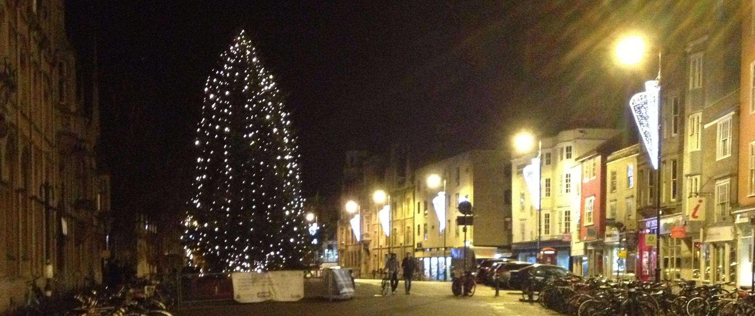 Christmas Oxford
