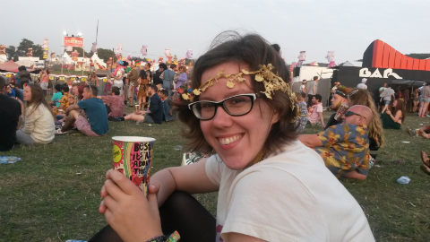 Me at Bestival