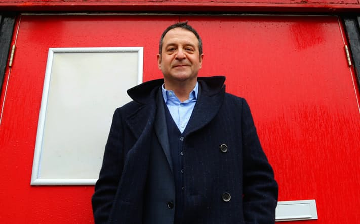 Mark Thomas Red Shed