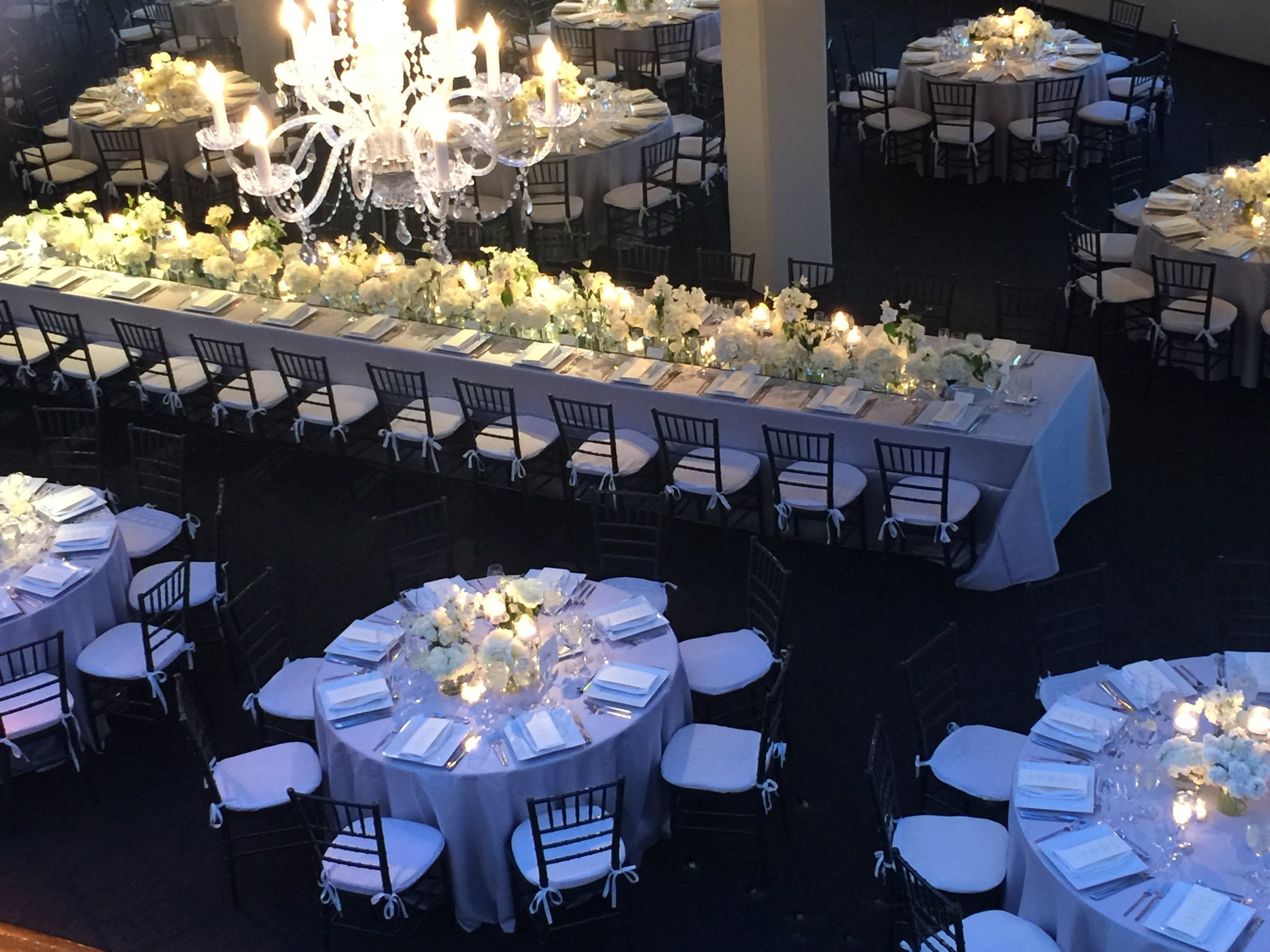 White Wedding at Tribeca Rooftop
