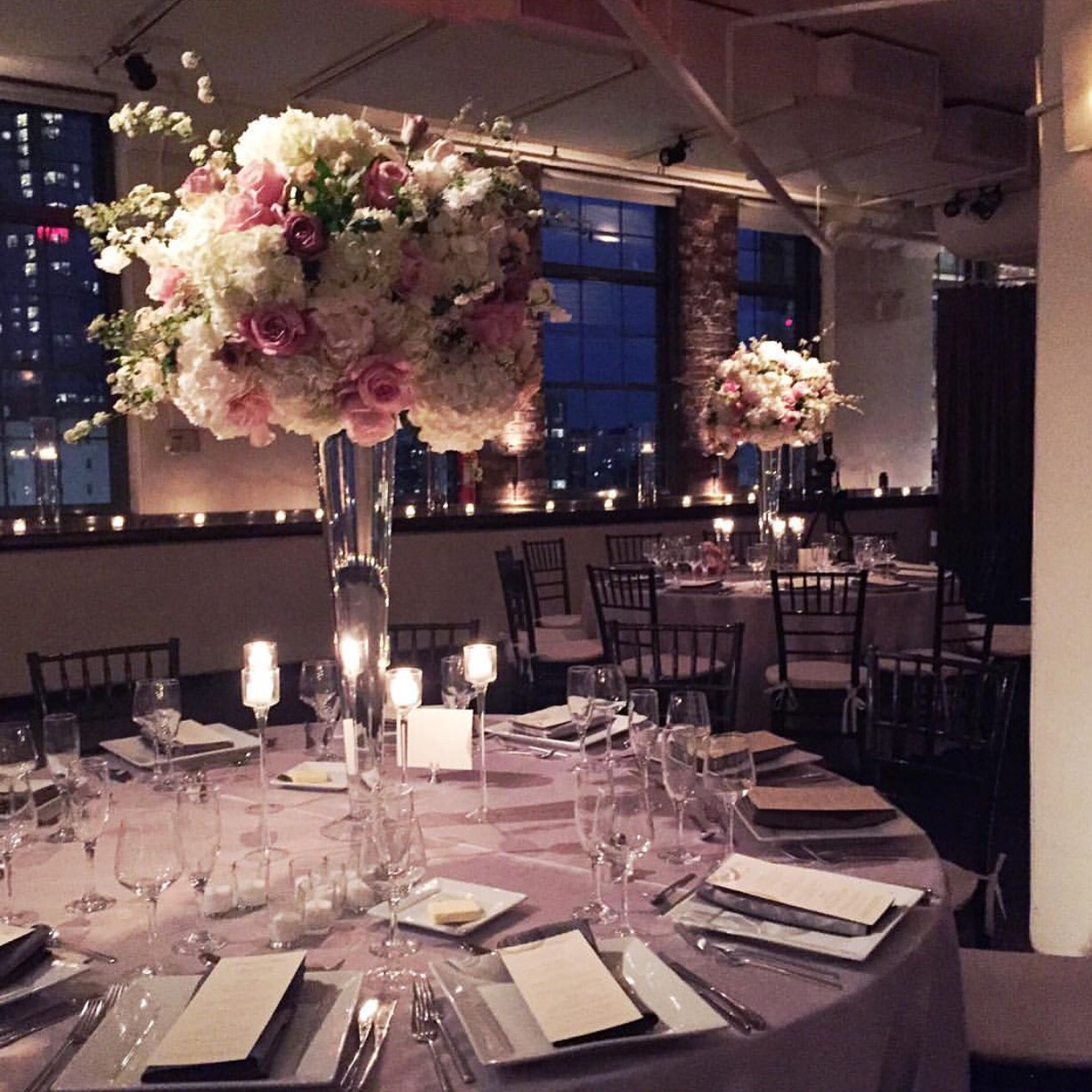 Summer wedding at Tribeca rooftop