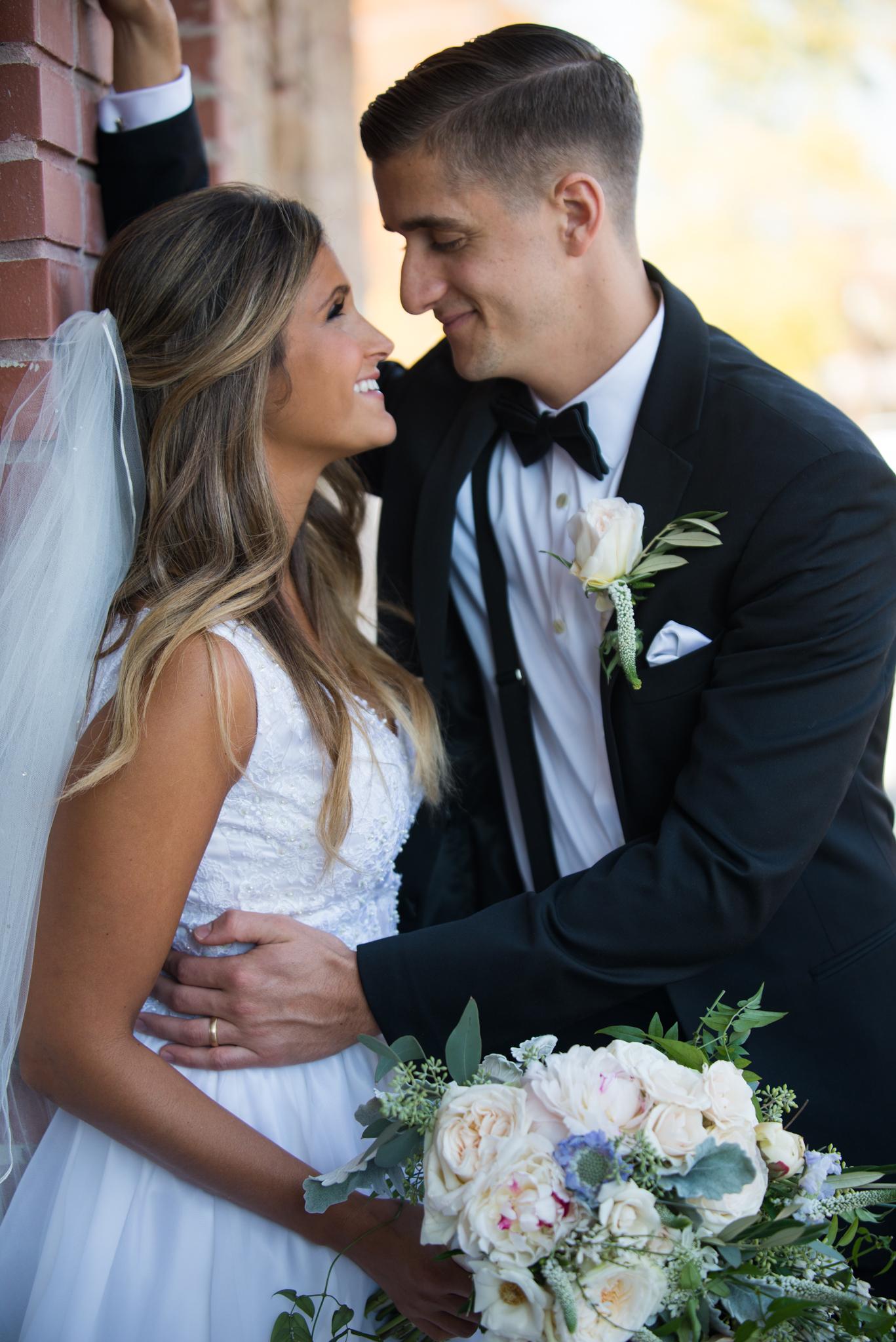 wedding portraits alexa michael