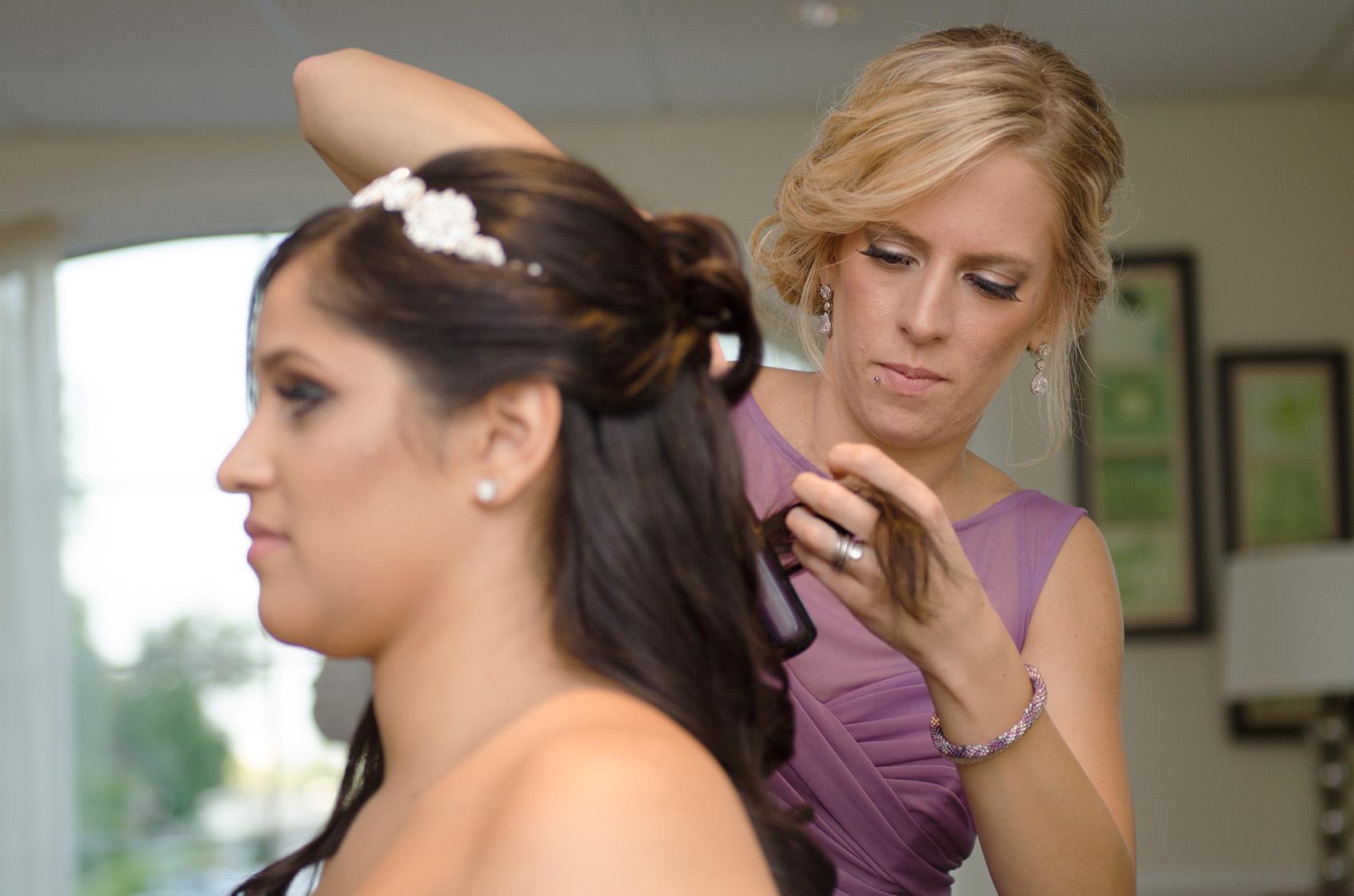 priscilla kim wedding hair