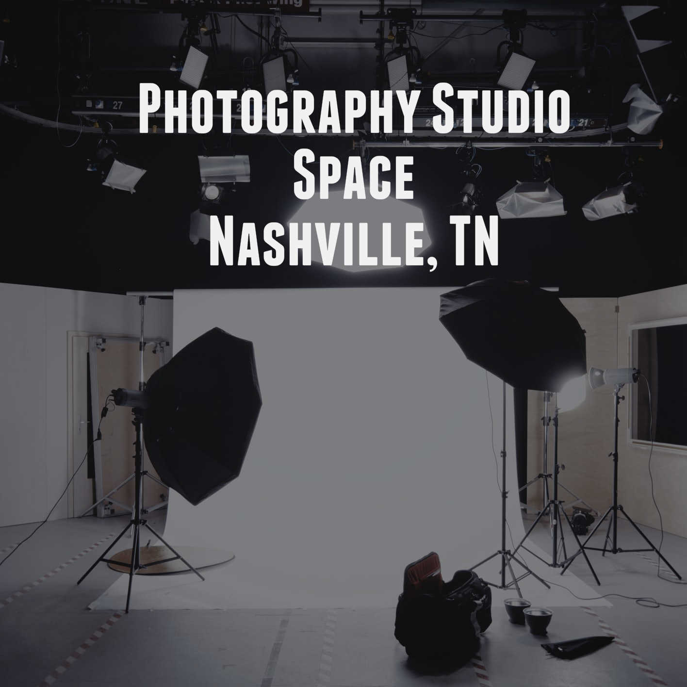 Commercial Photography Studio Space Nashville, TN Area