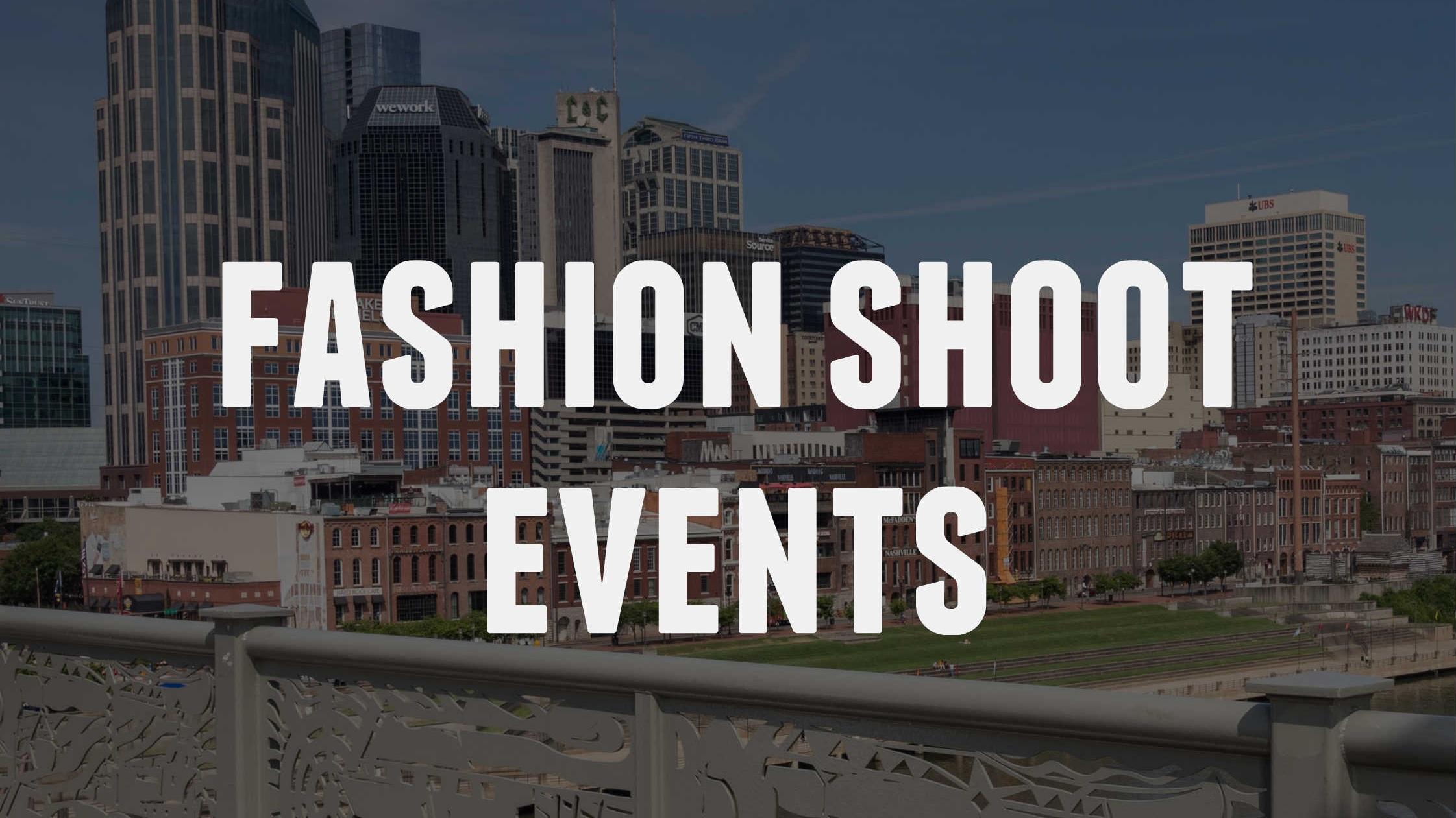 Fashion Shoot Event