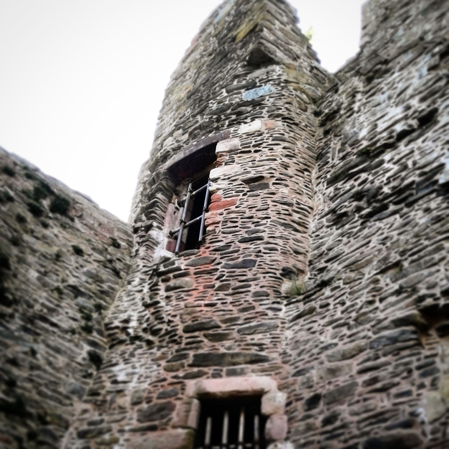 Lochranza Castle, a 13th Century Scottish hall and tower house.