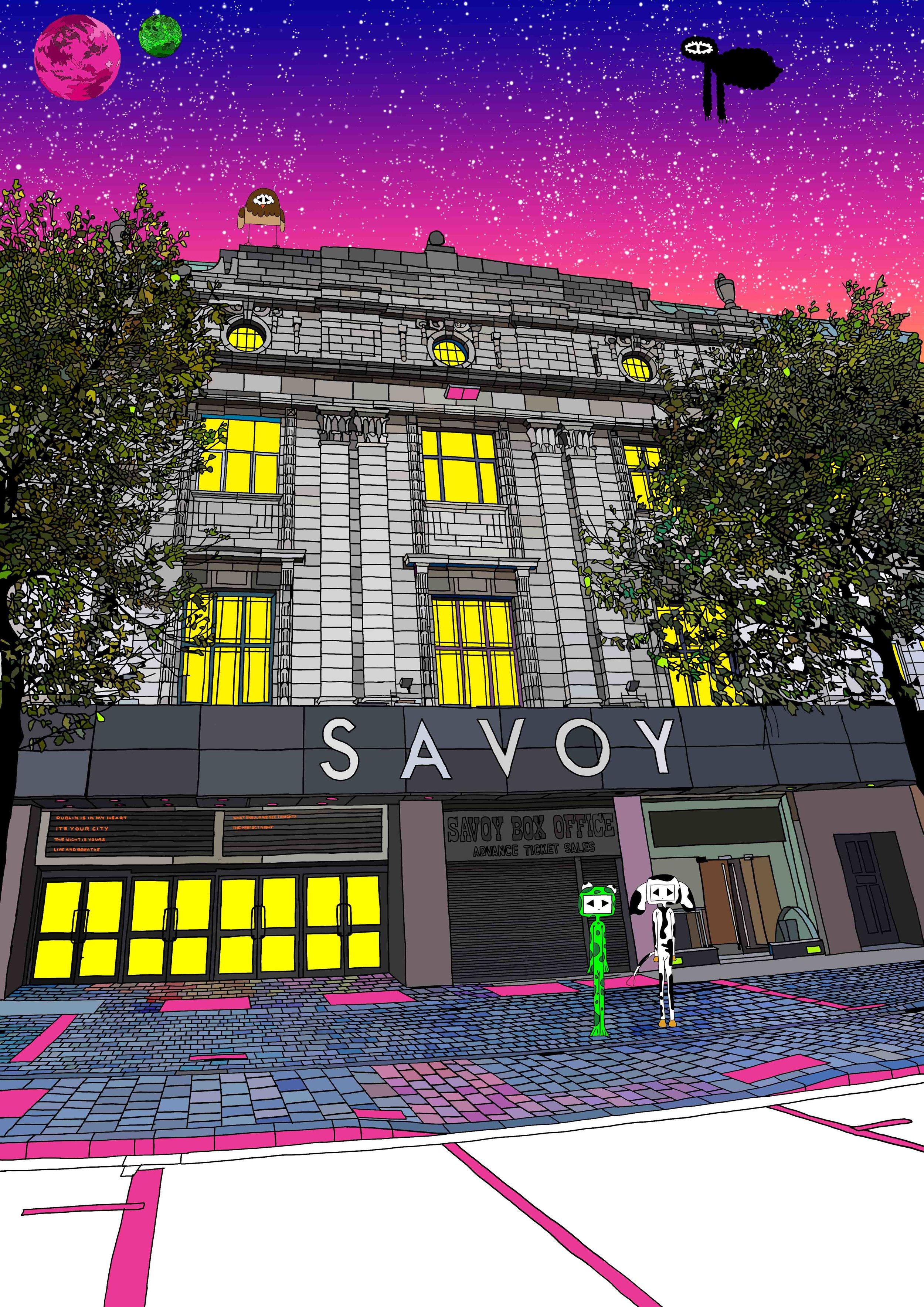 Sketchy Inc - The Savoy - Dublin