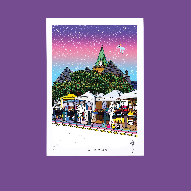 Sketchy Inc - Galway Market